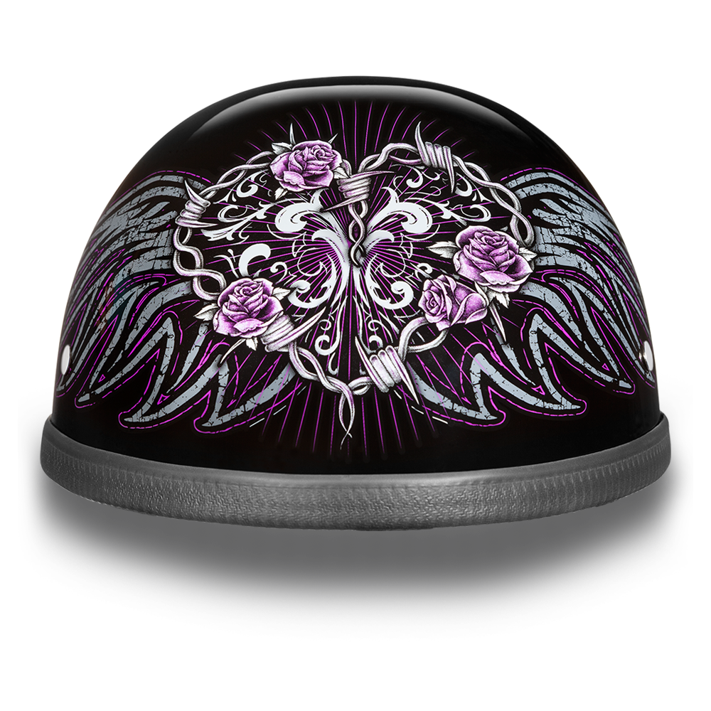 New Daytona Helmet Skull Cap EAGLE WIRE HEART Motorcycle Helmet ...