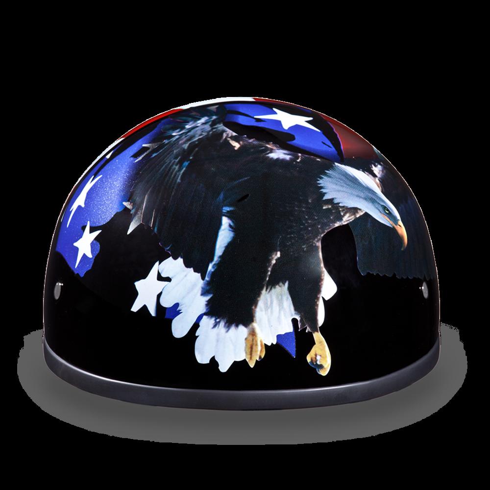 Dot Daytona Skull Cap w//Freedom