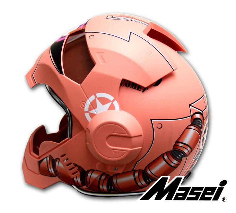 masei 610 ironman gundam zaku red bike motorcycle helmet